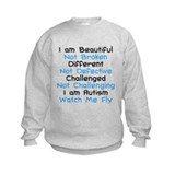 Iam Autism Watch Me Fly Sweatshirt
