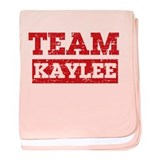 Team Kaylee baby blanket