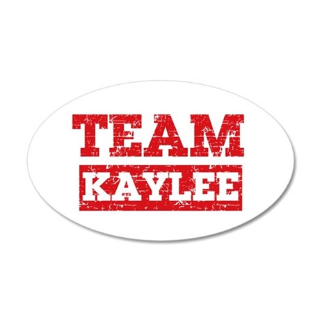 Team Kaylee 20x12 Oval Wall Decal