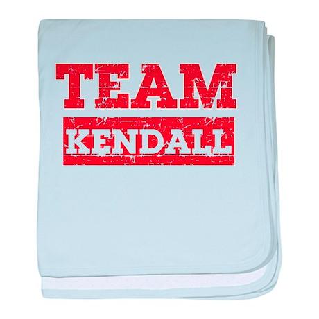 Team Kendall baby blanket