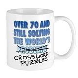 Solving the World's Crossword Puzzles Small Mug