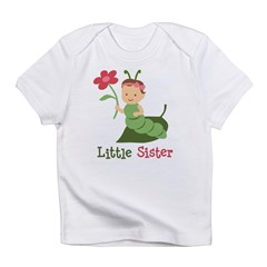 Little Sister - Caterpillar Infant T-Shirt