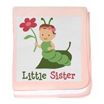 Little Sister - Caterpillar baby blanket