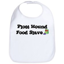 Plott Hound FOOD SLAVE Bib