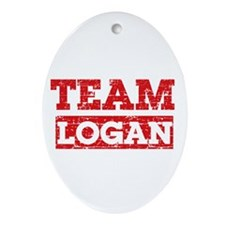 Team Logan Ornament (Oval)