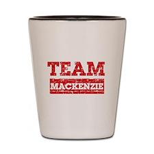 Team Mackenzie Shot Glass