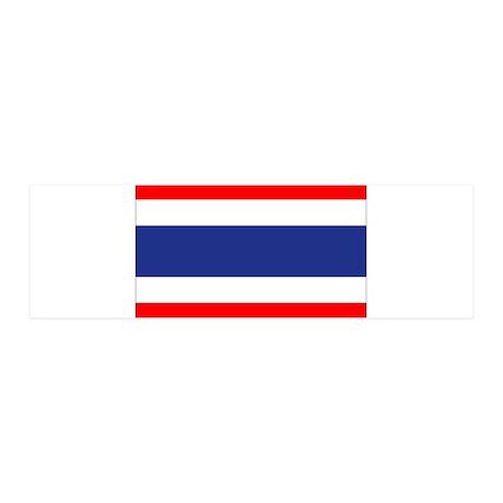 Thailand 36x11 Wall Decal