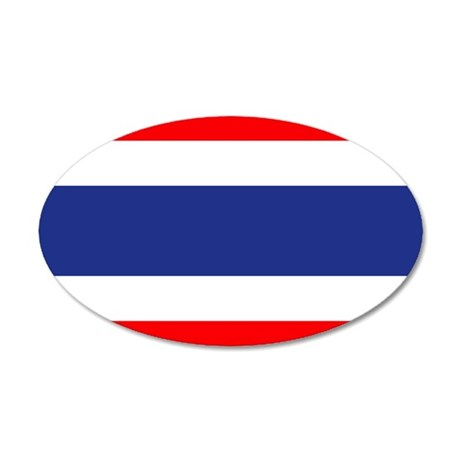 Thailand 20x12 Oval Wall Decal