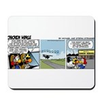 0656 - Landing in Oshkosh Mousepad
