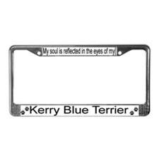 """""""Kerry Blue Terrier"""" License Plate Frame"""