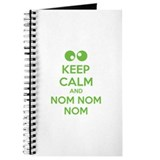 Keep calm and nom nom nom Journal