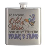 Old & Wise = Young & Stupid Flask