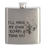 Make My Own Roads Flask