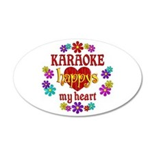 Karaoke Happy Wall Decal