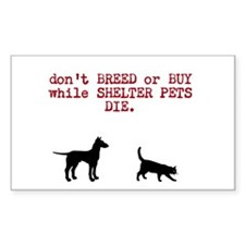 Decal don't breed or buy