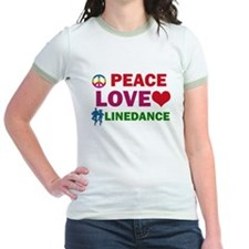 Peace Love linedance Designs T