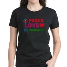 Peace Love linedance Designs Tee