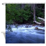 Blacksmith fork river Shower Curtain