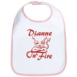 Dianne On Fire Bib