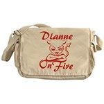 Dianne On Fire Messenger Bag