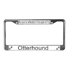 """Otterhound"" License Plate Frame"