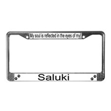 """Saluki"" License Plate Frame"