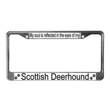 """Scottish Deerhound"" License Plate Frame"