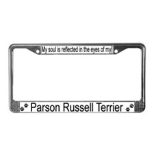 """Parson Russell Terrier"" License Plate Frame"
