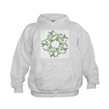 Circle of White's Tree Frogs Hoodie