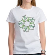 Circle of White's Tree Frogs Tee