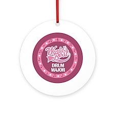 Worlds Best Drum Major Ornament (Round)
