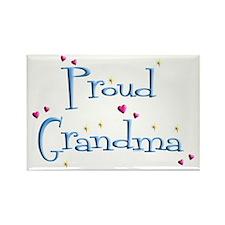 Proud Grandma Rectangle Magnet