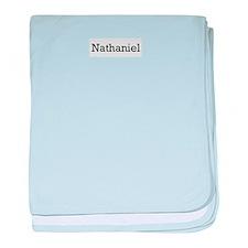 Nathaniel baby blanket