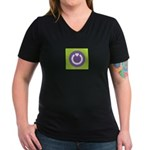 Gamers Giving Back (a) - Women's V-Neck Dark