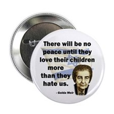 "There will be no peace 2.25"" Button (100 pack)"