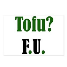 Tofu? F.U. Postcards (Package of 8)