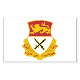 DUI - 5th Squadron - 15th Cavalry Regiment Decal