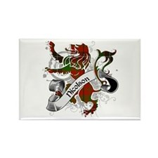 Nicolson Tartan Lion Rectangle Magnet