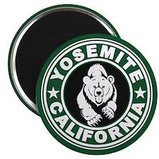 Yosemite Green Circle Magnet