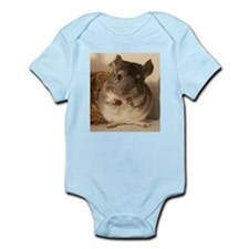 Lovely chinchillas Infant Bodysuit