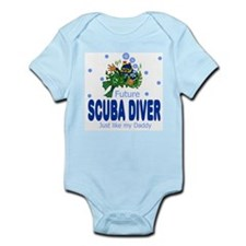 Cute My daddy is a marine Infant Bodysuit