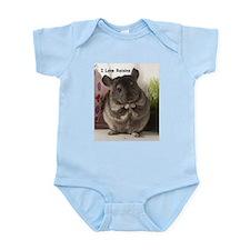 Chinchilla raisins Infant Bodysuit
