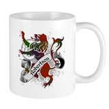 Robertson Tartan Lion Mug