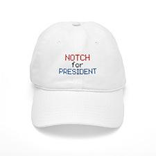 Minecraft Notch for President Baseball Cap