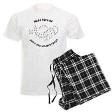 Drill Chart Marching Band Men's Light Pajamas
