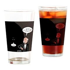 Bat Wake-Up Call Drinking Glass