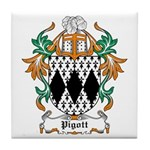 Pigott Coat of Arms Tile Coaster