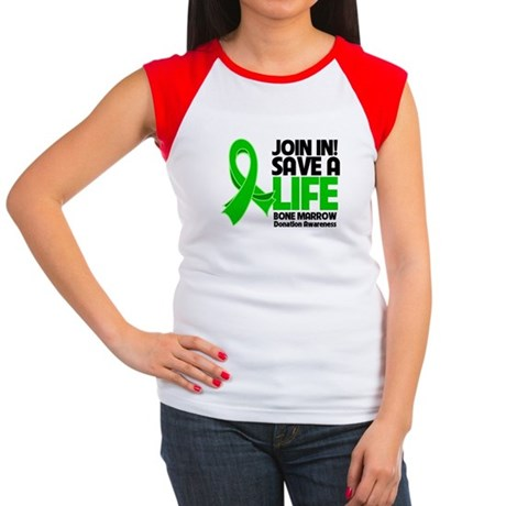 Save a Life Bone Marrow Women's Cap Sleeve T-Shirt