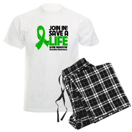 Save a Life Bone Marrow Men's Light Pajamas