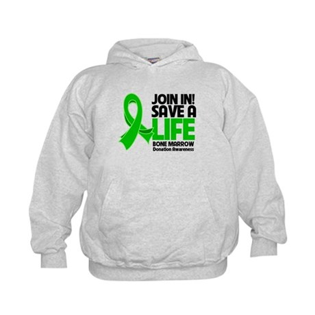 Save a Life Bone Marrow Kids Hoodie